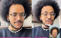 João Luiz reclama sobre falta de filtros para negros no Instagram