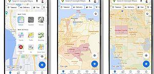 Google lança camada para identificar áreas com casos de covid-19 no Maps