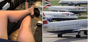 "Companhia aérea investiga aeromoça que oferece ""entretenimento adulto"" durante voos"