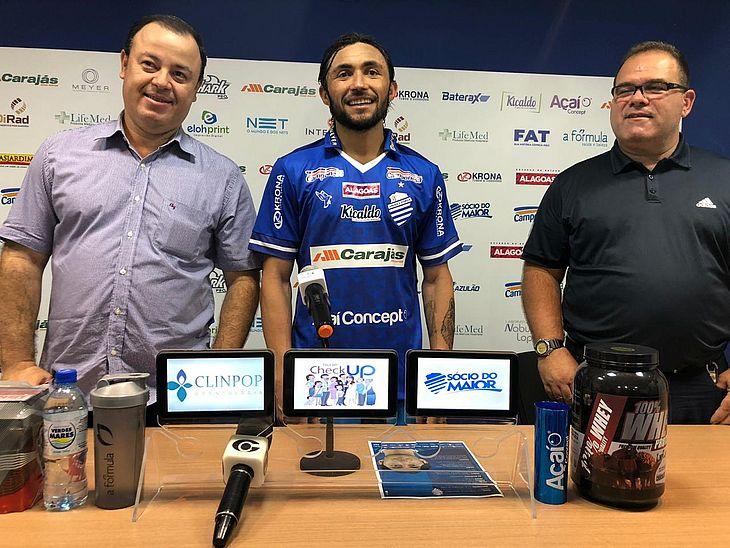 Fabiano Melo (executivo de futebol), Apodi e Marcelo de Jesus (gerente de futebol)