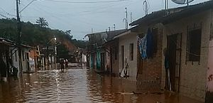 Defesa Civil alerta para risco de transbordamento no Rio Jacuípe