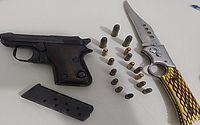 Suspeito de extorquir e estuprar crianças e adolescentes em SE é preso com armas