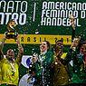 Brasil é campeão invicto e garante vaga para o Mundial de Tóquio em 2019