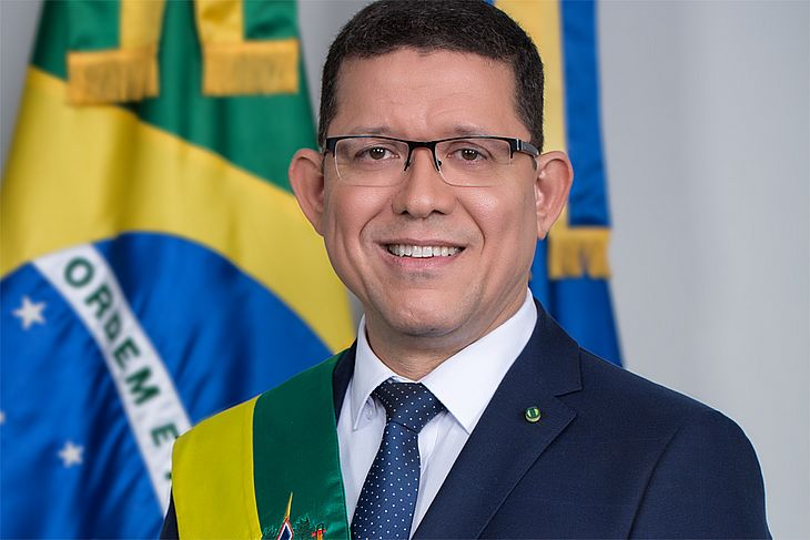 Governador de Rondônia, coronel Marcos Rocha (PSL)