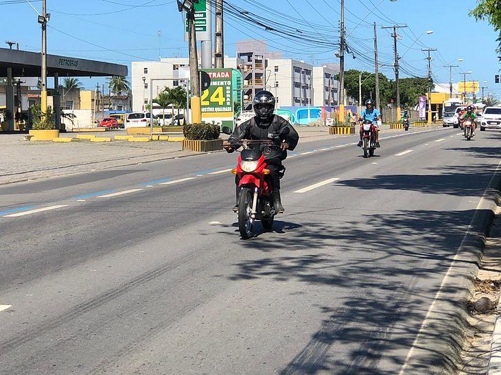Pré-cadastro integra o cronograma de procedimentos de regulamentação dos mototaxistas em Maceió