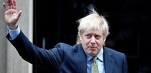 Primeiro-ministro do Reino Unido, Boris Johnson está com coronavírus