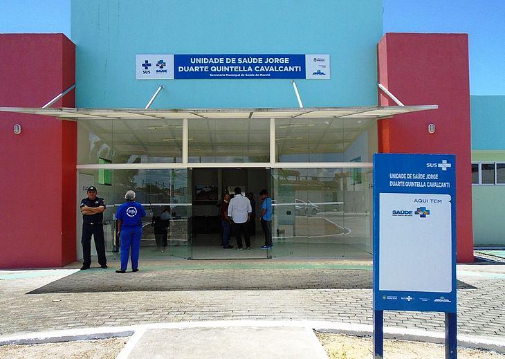 Unidade Jorge Duarte Quintela, no Graciliano Ramos, continua a atender casos de síndromes gripais