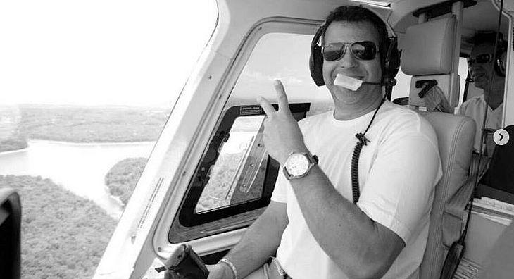 Piloto morreu em acidente que também vitimou jornalista