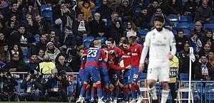 CSKA bateu o Real Madrid por 3 a 0 no Santiago Bernabéu