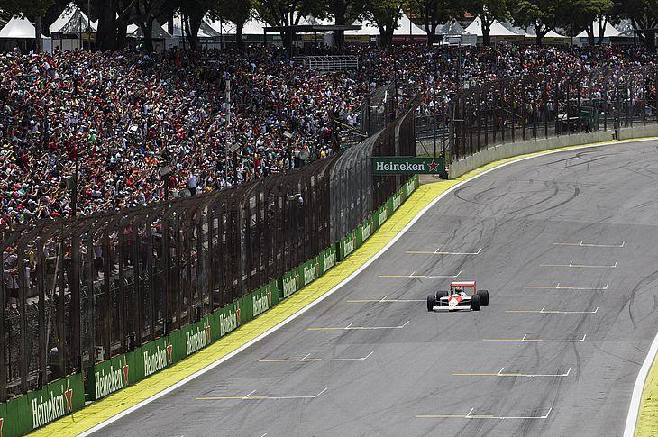 GP Brasil de Formula 1 no Autodromo de Interlagos