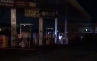 Vídeo mostra vazamento de GNV em posto de combustíveis na Fernandes Lima