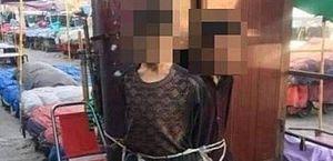 Milicianos do Talibã amarram adolescentes famintos a poste por 'terem roubado pão'
