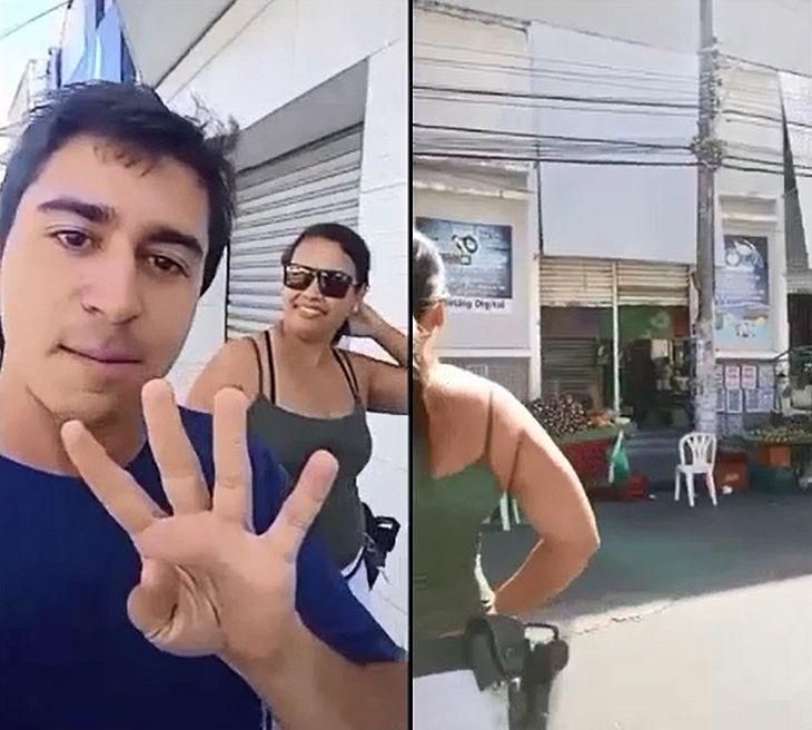 Em vídeos divulgados pela Polícia Civil, agentes trocam informações sobre as ações que irão realizar naquele dia