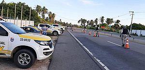 BPRv registra oito acidentes com duas mortes em estradas alagoanas no feriadão