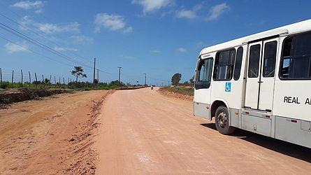 Obras da Ecovia Norte foram retomadas nesta segunda