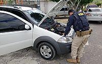 PRF prende homem por receptação e recupera na BR-316 mais um veículo roubado