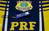 PRF prende motorista embriagado na BR 316, em Maravilha/AL