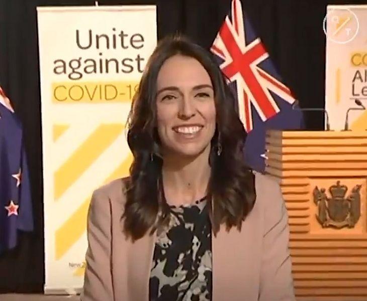 A Primeira Ministra da Nova Zelândia, Jacinda Ardern