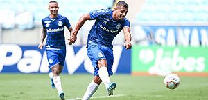 Recuperado da covid-19, Diego Souza volta a treinar com fome de bola