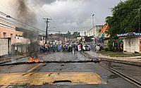 Protestos fecham vias em Alagoas contra reforma da Previdência