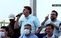 Bolsonaro inaugura trecho da transposição do Rio São Francisco, em Alagoas; assista