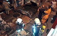 Loja de colchões é atingida por incêndio no Centro de Sobral, no Ceará