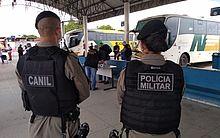 Equipes estão nas ruas da Capital e interior monitorando o cumprimento do Decreto
