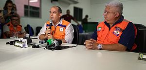 Coordenadores de Defesa Civil falam sobre simulado