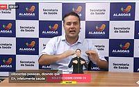 Alagoas tem 18 casos confirmados de covid-19 e 343 em investigação