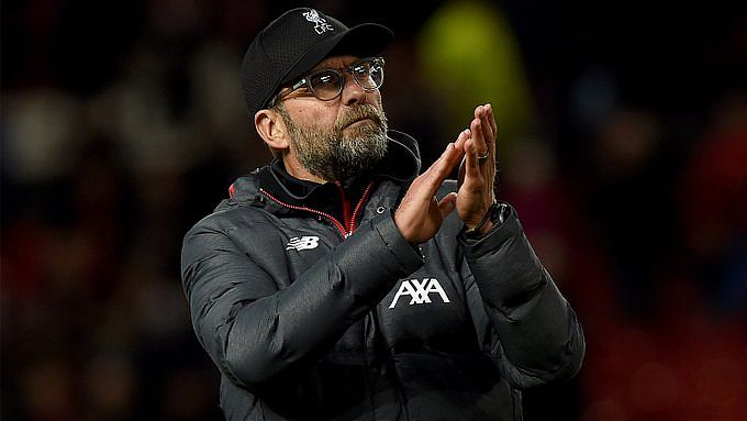 Jürgen Klopp, técnico do Liverpool