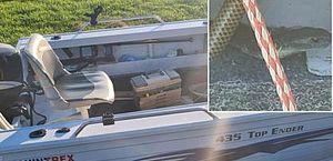 Idoso encontra cobra mortal em barco durante pescaria na Austrália