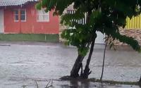 Chuvas foram registradas em algumas regiões de Alagoas