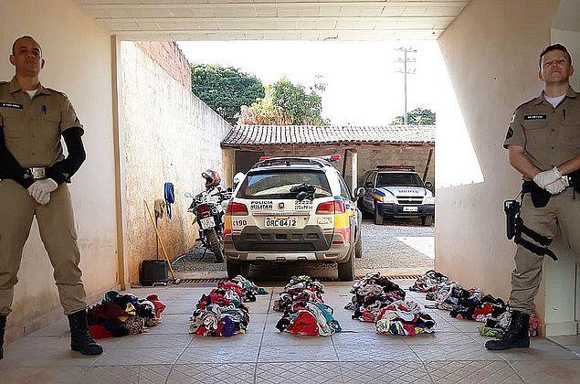 Homem é preso com mais de mil calcinhas roubadas em Minas Gerais