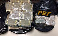 Dinheiro foi encontrado no porta-malas de carro alugado por alagoanos