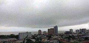 Previsão mostra tempo com períodos de chuvas rápidas no Litoral de Alagoas