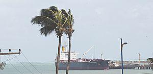 Marinha alerta para ventos de até 62 km/h no litoral alagoano