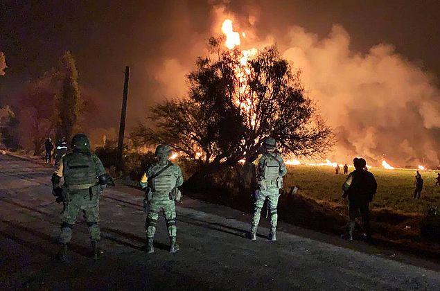 Explosão de tubulação de combustível deixa ao menos 66 mortos no México
