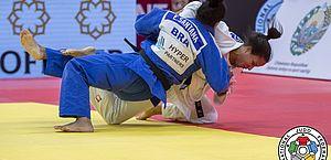 Judô brasileiro bate outra vez na trave no Grand Slam de Tashkent