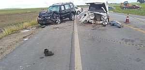 IML confirma duas mortes em acidente entre Pajero e Kombi em Marechal Deodoro