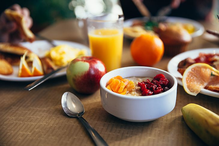 Café da manhã é a refeição mais importante