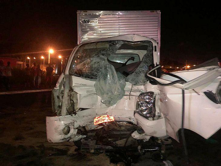 Motorista de caminhão-baú não resistiu aos ferimentos