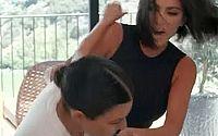 Vídeo: Kim e Kourtney Kardashian protagonizam briga com tapas em reality show