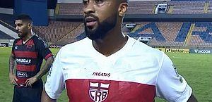 Wesley fala de adaptação no CRB e cita objetivos para o Brasileiro