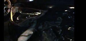 Condutores filmaram carros envolvidos em acidente