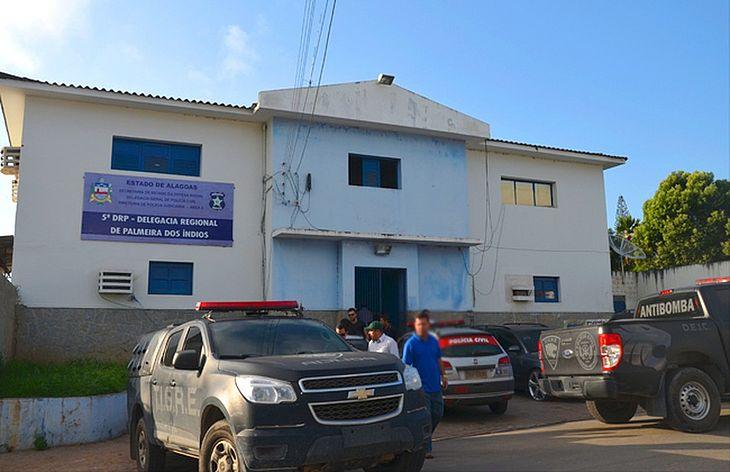 Os presos estão sendo encaminhados para a delegacia de Palmeira dos Índios
