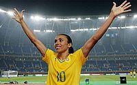 Jogadora Marta vai ser homenageada com Título de Cidadã Honorária de Maceió
