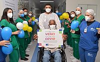 Paciente de 115 anos recebe alta de Covid-19 após se recuperar no Hospital Metropolitano