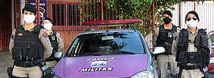 520 mulheres foram encaminhadas pela Justiça para proteção da Patrulha Maria da Penha, em Maceió