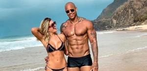 Lorena Improtta e Léo Santana terminam noivado