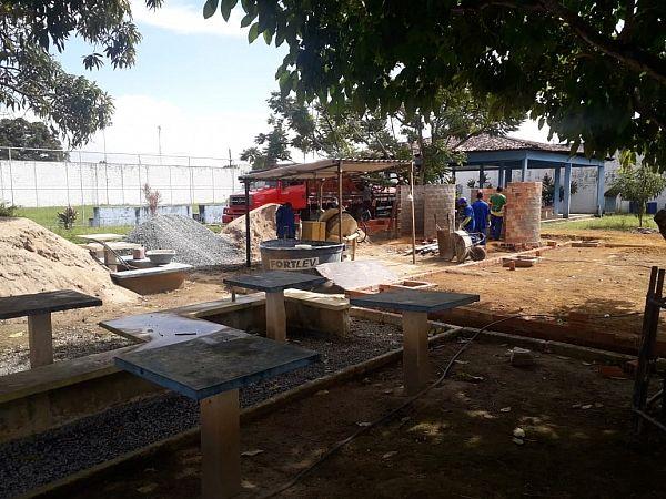 Equipamento, que está sendo construído no Tabuleiro do Martins, vai proporcionar inclusão social e produtiva para adolescentes das Unidades de Internação